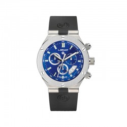 "BRUAT  crono azul 45 MM ""Scaphandre"" 10304"