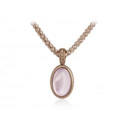 Colgante en plata rosa de Marina Garcia modelo Sweet