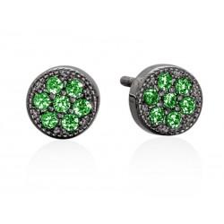 Pendientes JOUR Verde en plata Negra 9386PNV Marina Garcia