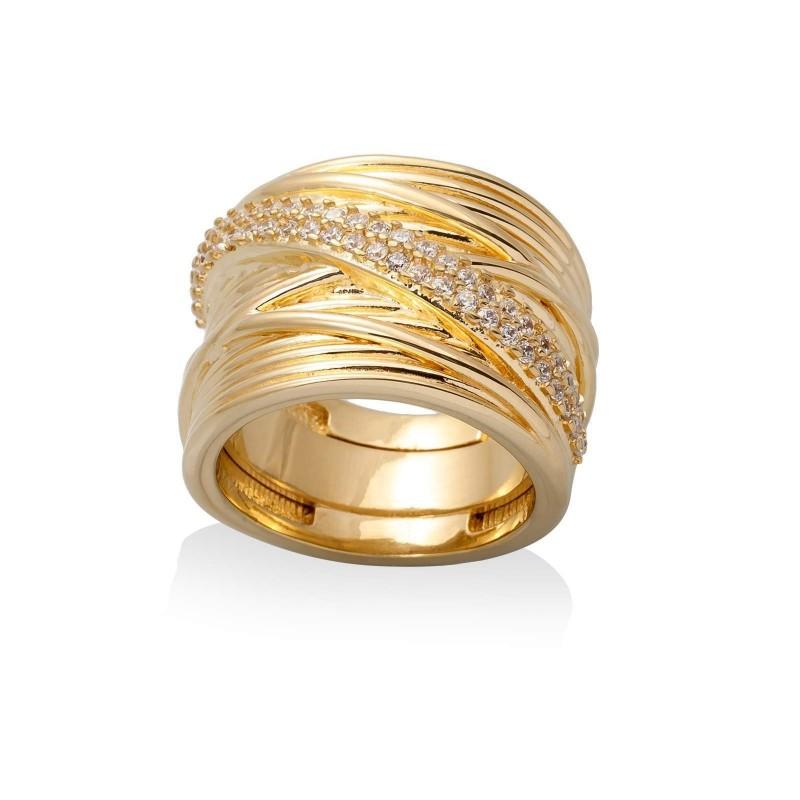Anillo de Marina Garcia en plata dorada Referencia  90190SDB