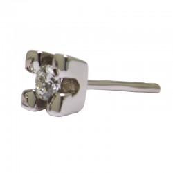 Pendientes pera diamantes