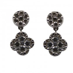 Pendientes de diamantes 0.75 Quilates