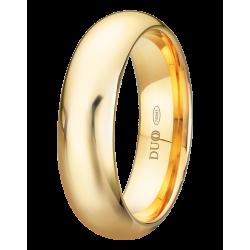 Alianza de boda clasica en 6mm