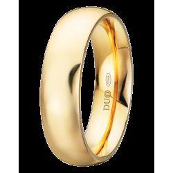 Alianza de boda clásica en 6mm