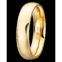 Alianza boda clásica en 5 mm